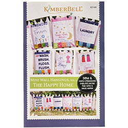 Kimberbell Mini Wall Hangings The Happy Home - Sewing Version