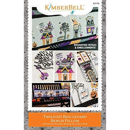 Kimberbell Twilight Boo-levard Bench Pillow Pattern - Sewing Version KD196