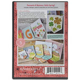 Kimberbell Machine Embroidery CD - Pennants & Banners: Hello Spring! (KD582)