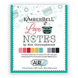 Aurifil Thread Collection Kimberbell Love Notes 10 Small Spools 50 Weight Cotton