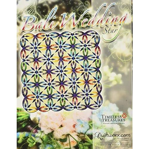 Quiltworx BCAC34102 Bali Wedding Star Pattern