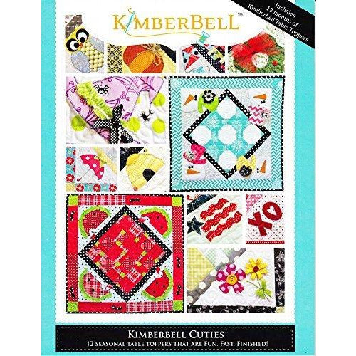 Kimberbell Cuties 12 Seasonal Table Toppers Pattern, Assorted