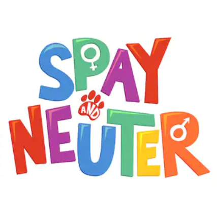 Spay & Neuter - Please help us control the cat population! We work with low cost spay/neuter providers and cat rescue and foster organizations.  Help us be part of the solution.