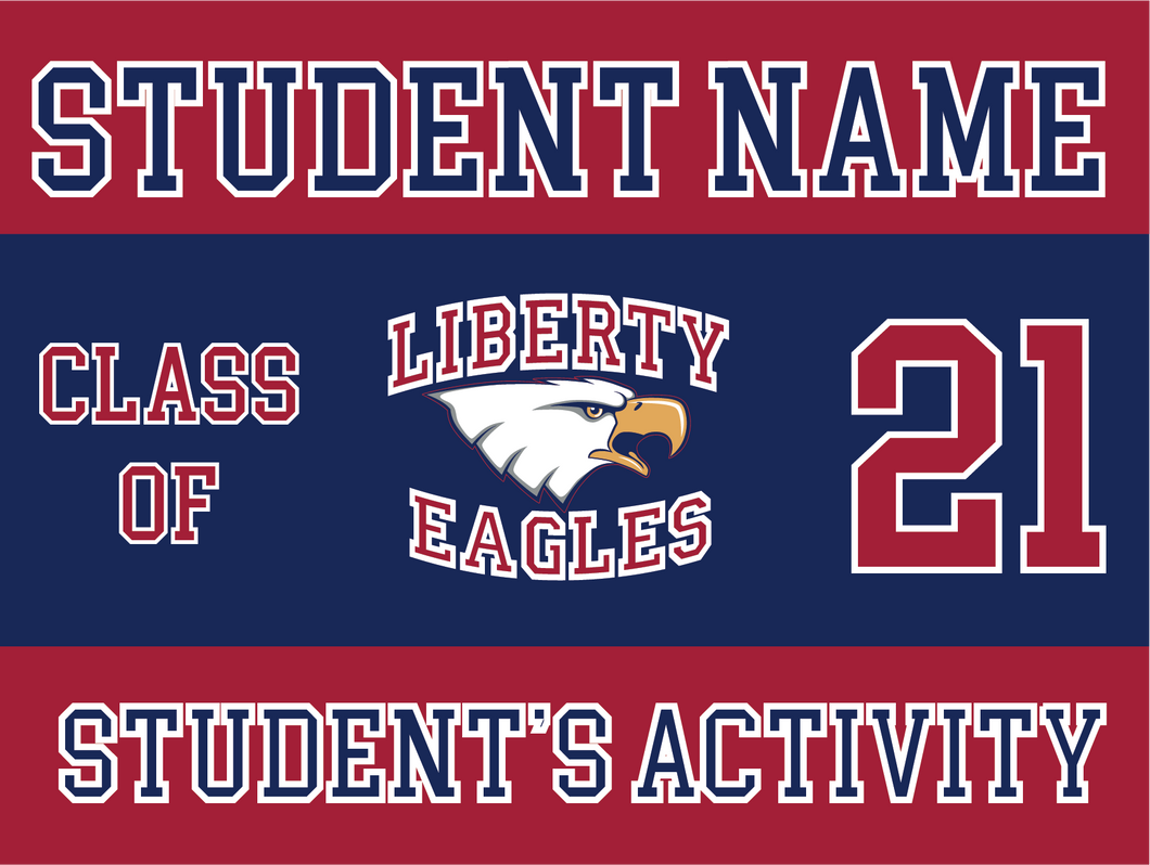 Liberty Yard Sign Option 4