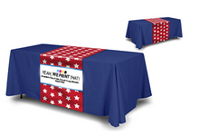 Load image into Gallery viewer, 6 Foot Table Runner/Throw Combo