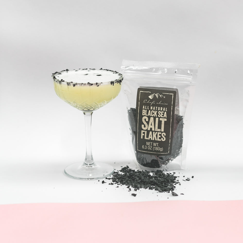 ALL NATURAL BLACK SEA SALT FLAKES