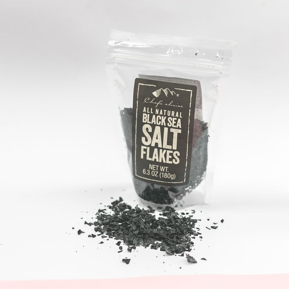 Load image into Gallery viewer, ALL NATURAL BLACK SEA SALT FLAKES
