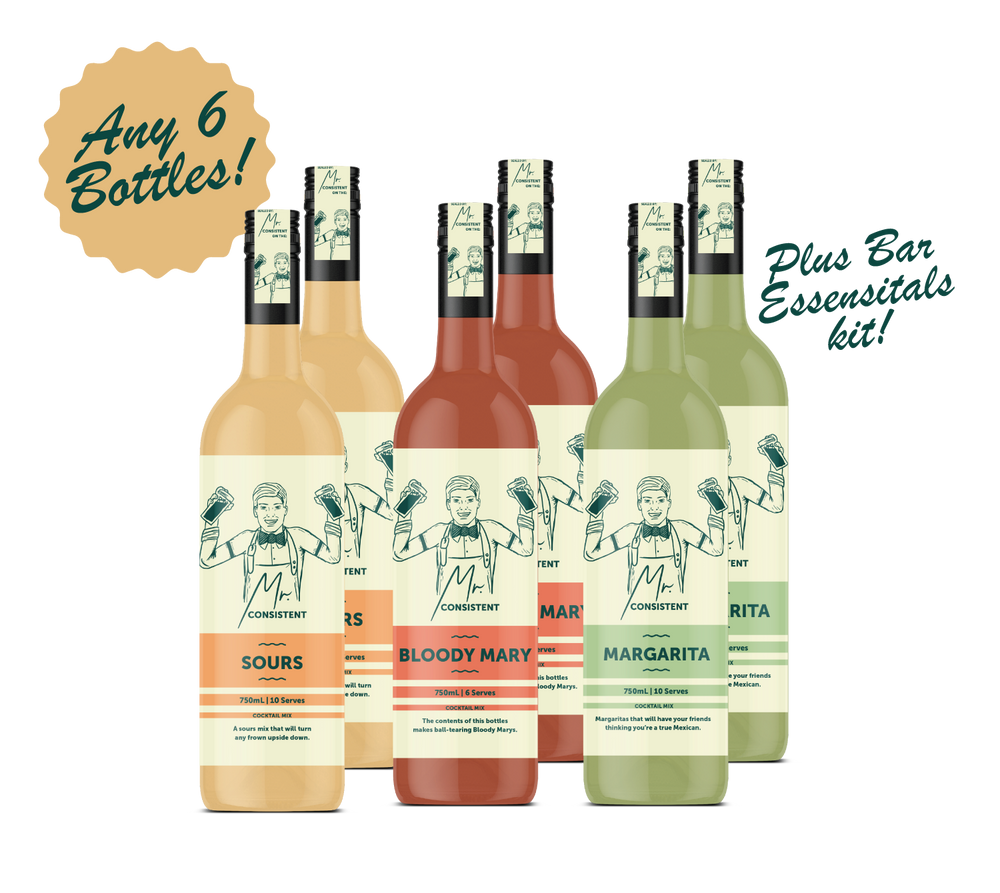 MIXER PARTY PACK! (MIX & MATCH 6 x Bottles) SAVE $35!
