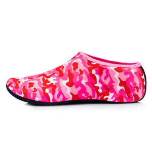 pink colors water shoes