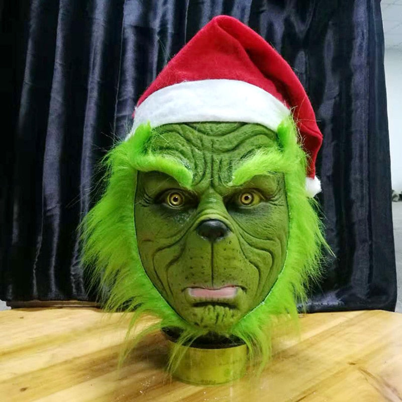 Grinch Christmas Mask