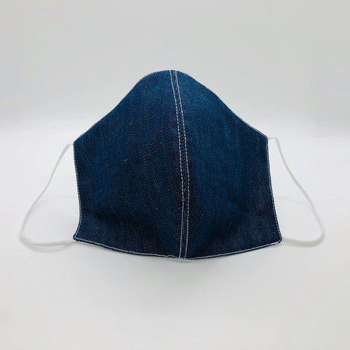 Cover Face  Denim  with contrast stitching