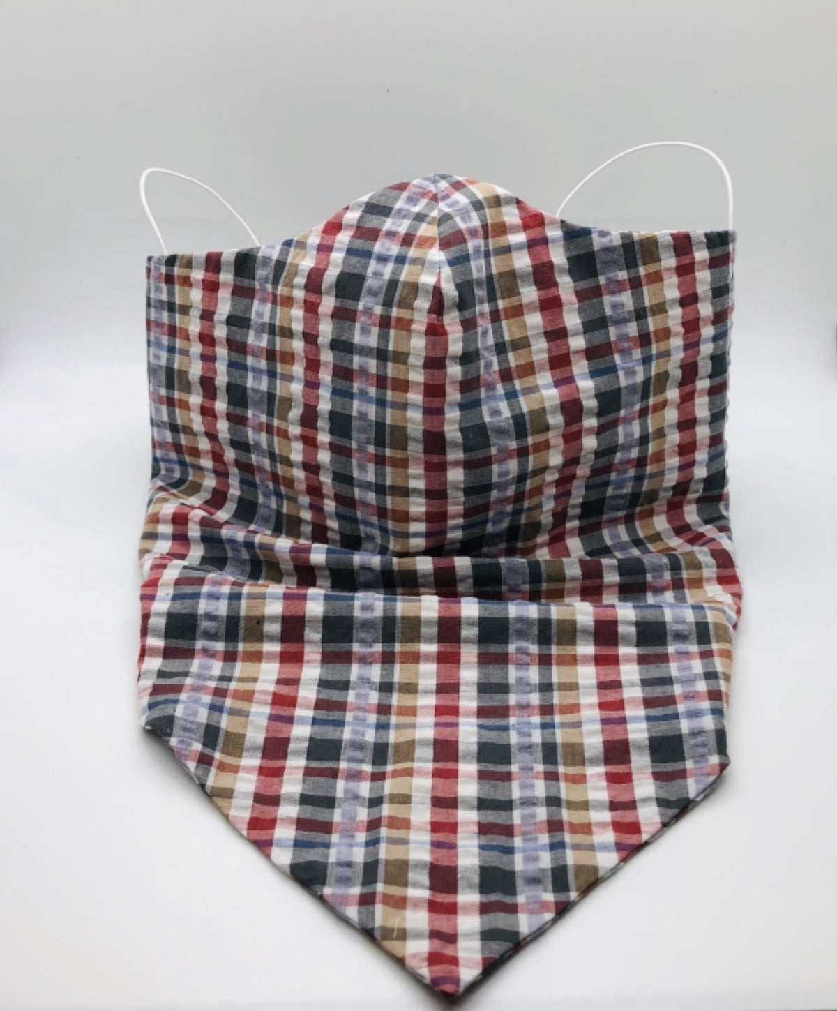 Plaid Face Cover
