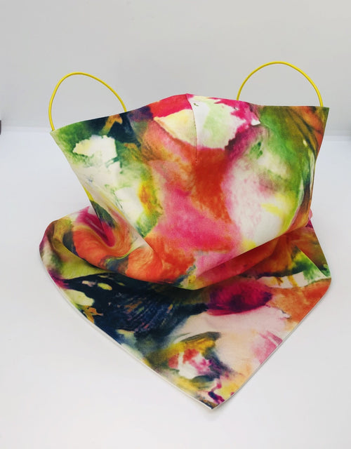 Cotton Holi Fest Bandana by Ludmila Couture