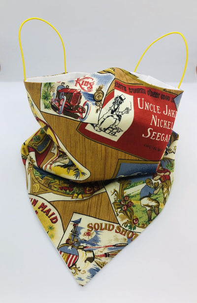 Cotton Wild West Bandana by Ludmila Couture