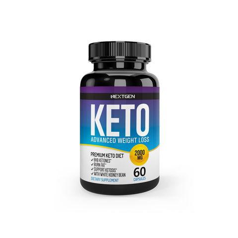 KETO 2000MG ADVANCED WEIGHT LOSS GOLD / 60 CÁPSULAS