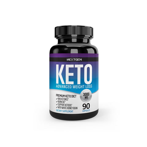 KETO 3000MG ADVANCED WEIGHT LOSS PLATINUM / 90 CÁPSULAS