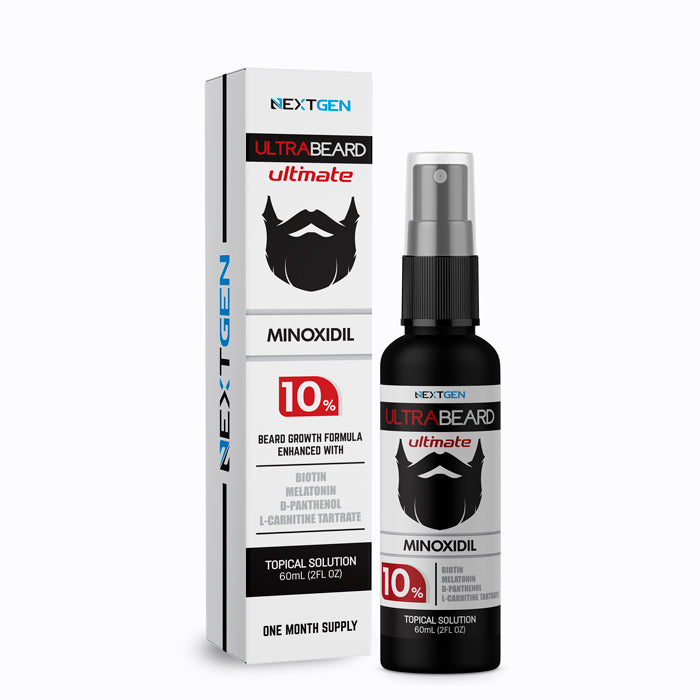 MINOXIDIL NEXTGEN ULTRABEARD ULTIMATE 10% PARA BARBA / 60ML