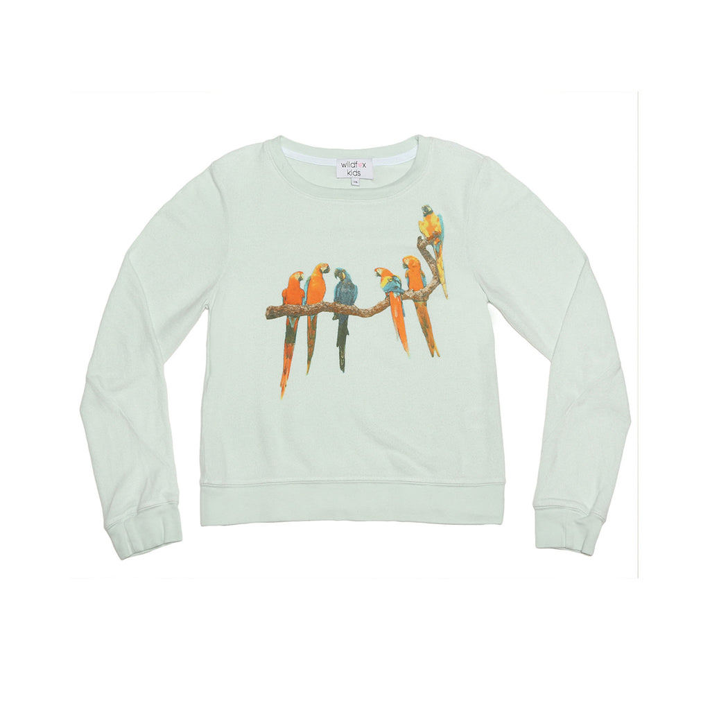 birds in paradise baggy beach jumper