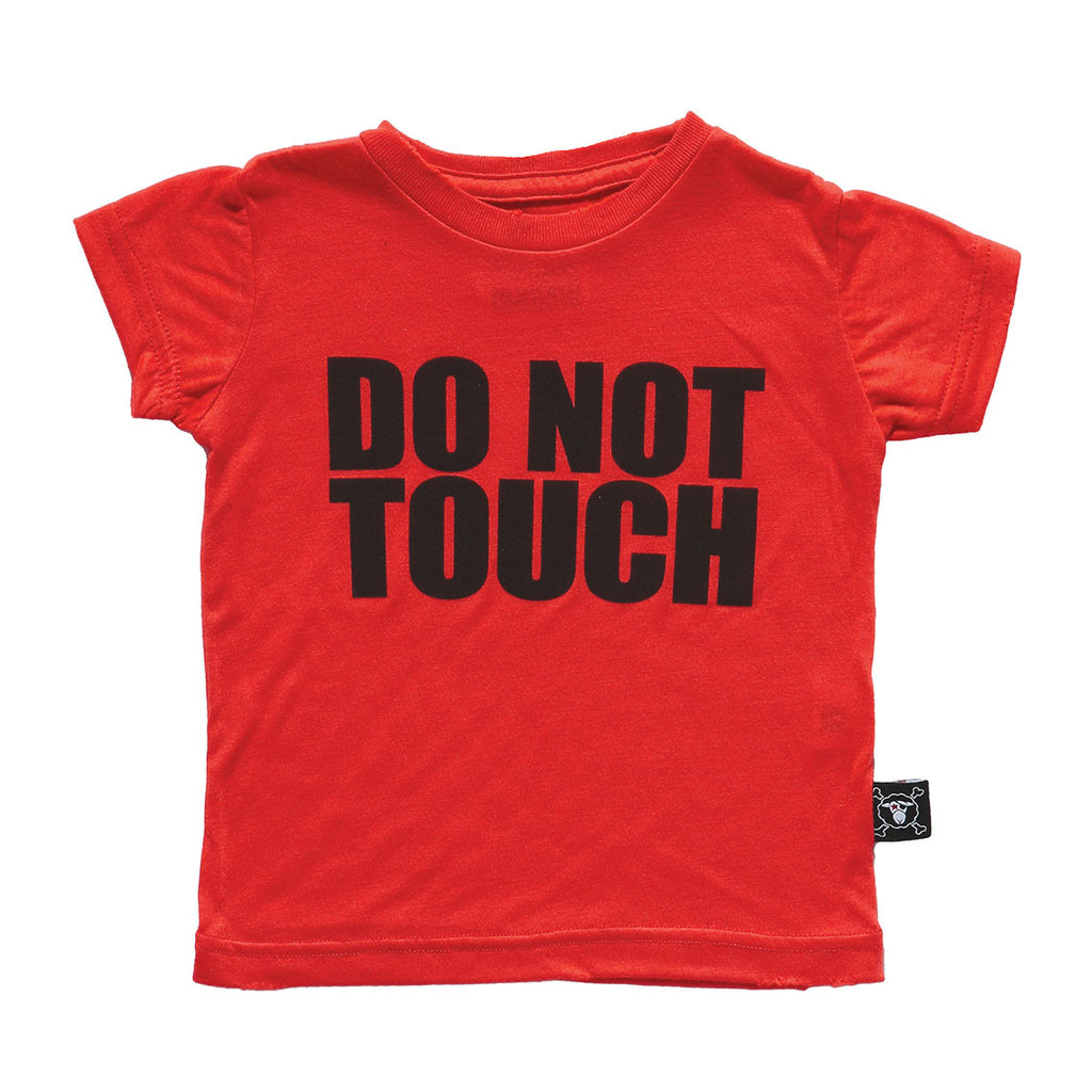 do not touch t-shirt