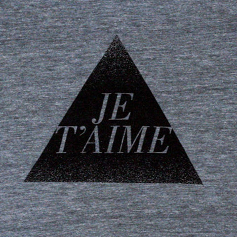 je t'aime t-shirt (adult)