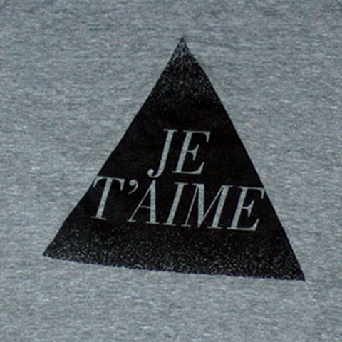 je t'aime women's pullover (adult)