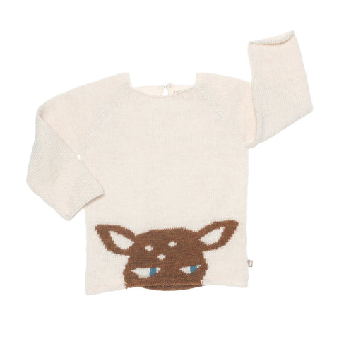 peeking bambi sweater