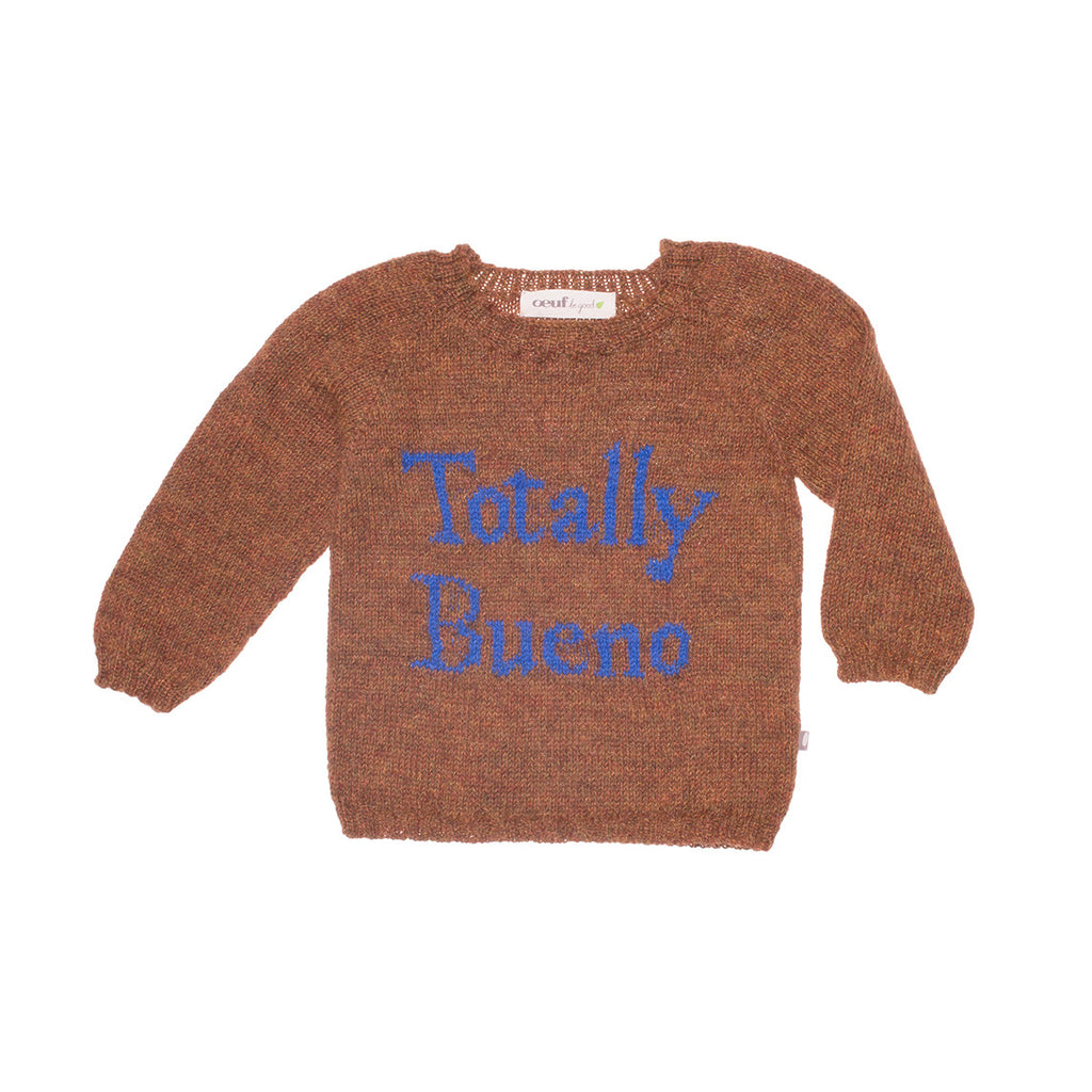 Oeuf Nyc Totally Bueno Sweater Hazelnut Mini Prive