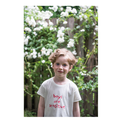 boys are sensitive tshirt