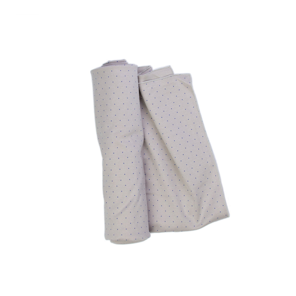 polka dot baby swaddle
