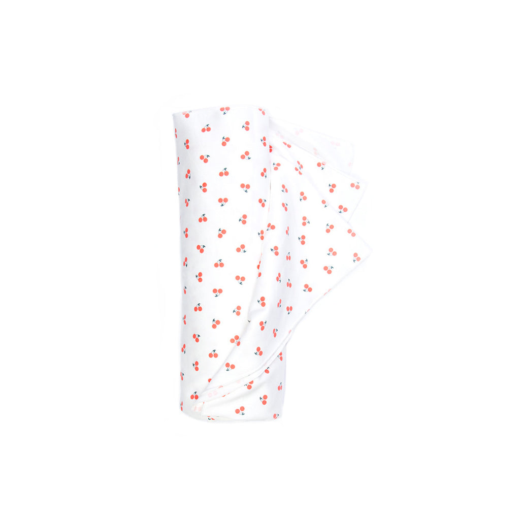 cherries baby swaddle