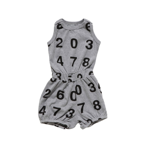 short numbers romper