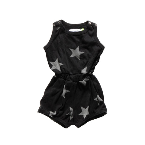 short star romper