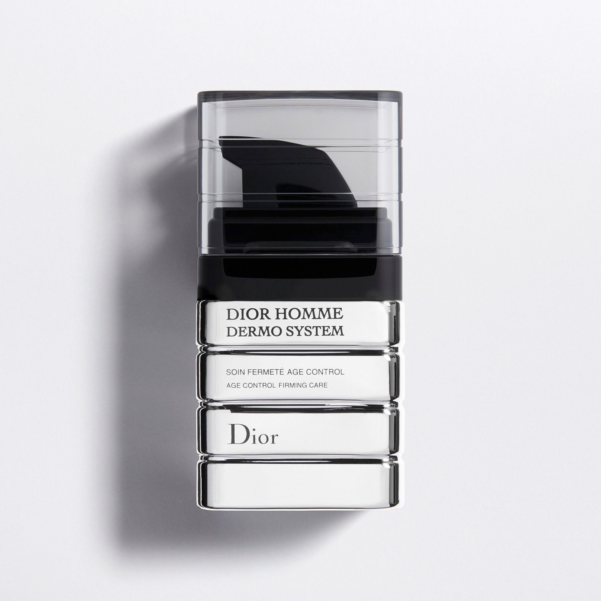 DIOR HOMME DERMO SYSTEM | Age Control Firming Care - Bio-Fermented Ingredient & Vitamin E Phosphate