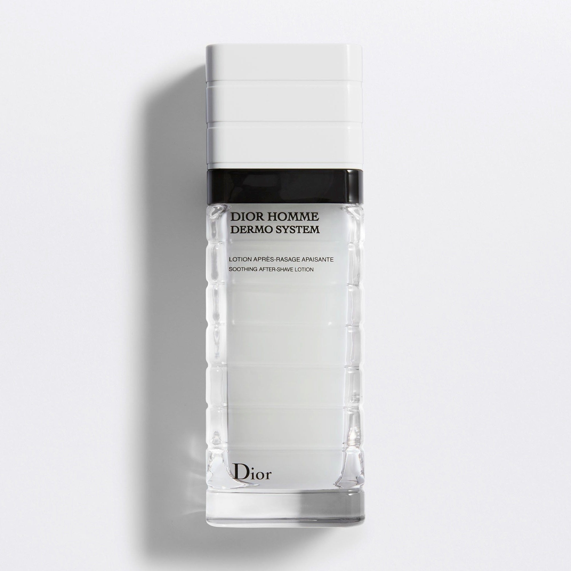 DIOR HOMME DERMO SYSTEM | Soothing After-Shave Lotion - Bio-Fermented Ingredient & Vitamin E Phosphate