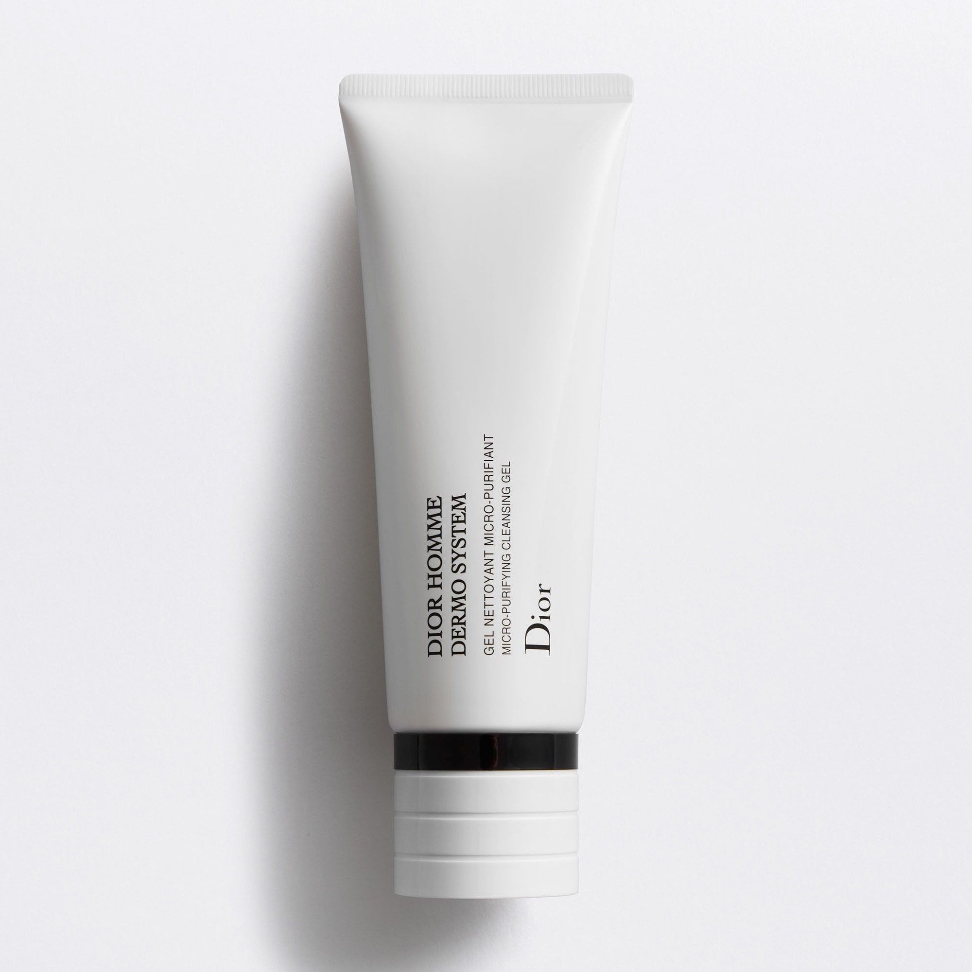 DIOR HOMME DERMO SYSTEM | Micro-Purifying Cleansing Gel - Bio-Fermented Ingredient & Vitamin E Phosphate
