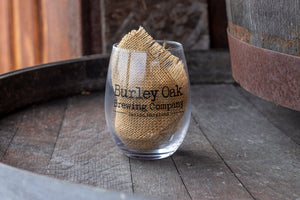 Burley Oak Stemless Glass