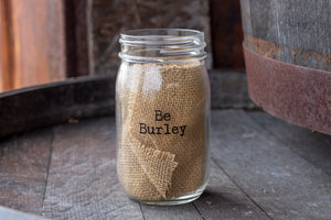Burley Oak Mason Jar Glass