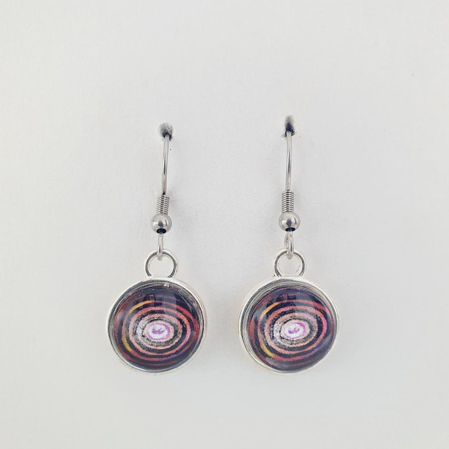 Sterling Silver Earrings by Kayelene Slater-Terry
