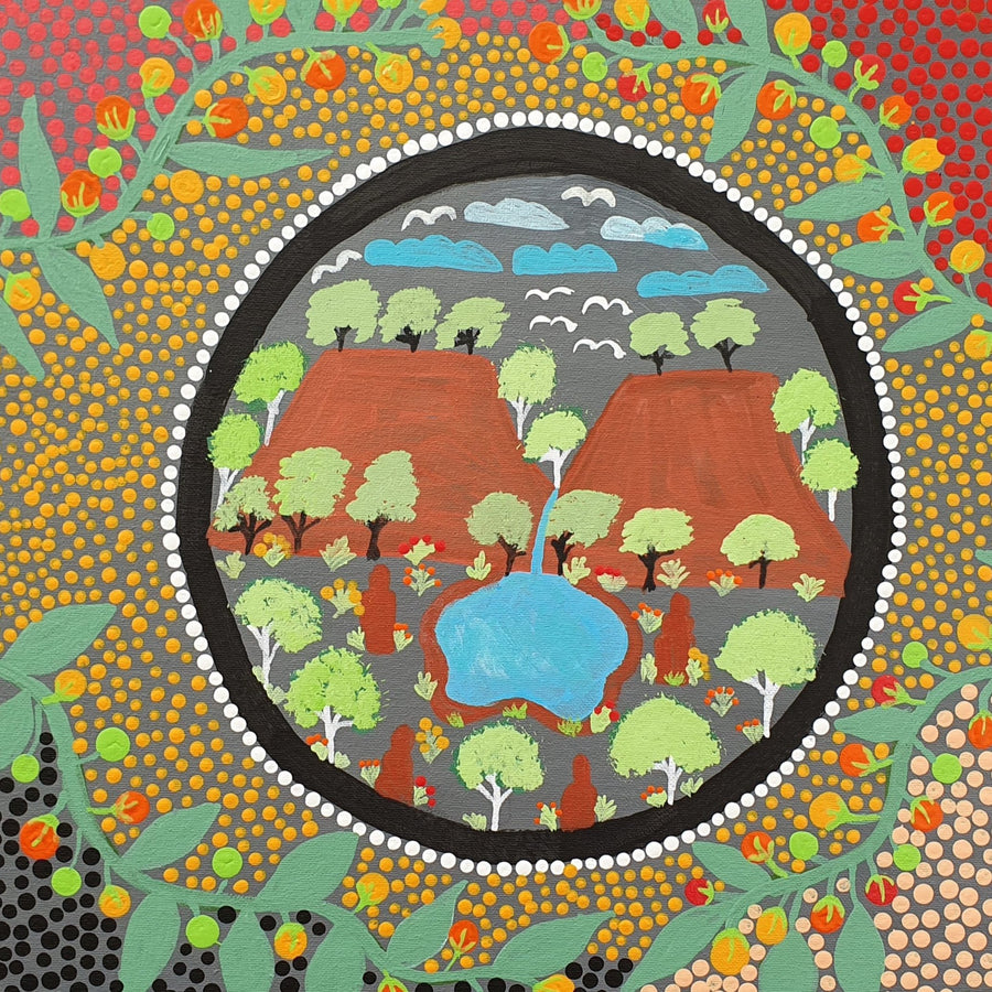 Indigenous-Art-Bush-Medicine-Plants-Susie-Pope