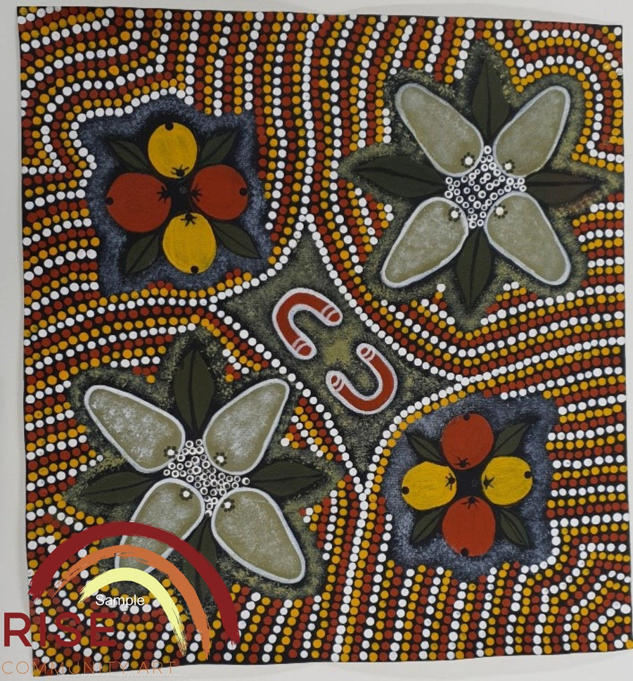 Indigenous-Art-Wild-Figs-and-Wild-Bush-Bananas-Patricia-Curtis-Forbes