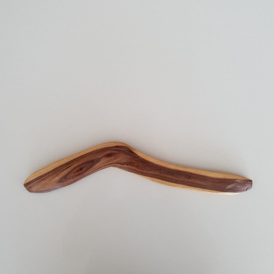 Indigenous-Art-Wood-Carving-Boomerang-3-Robert-Tilmouth