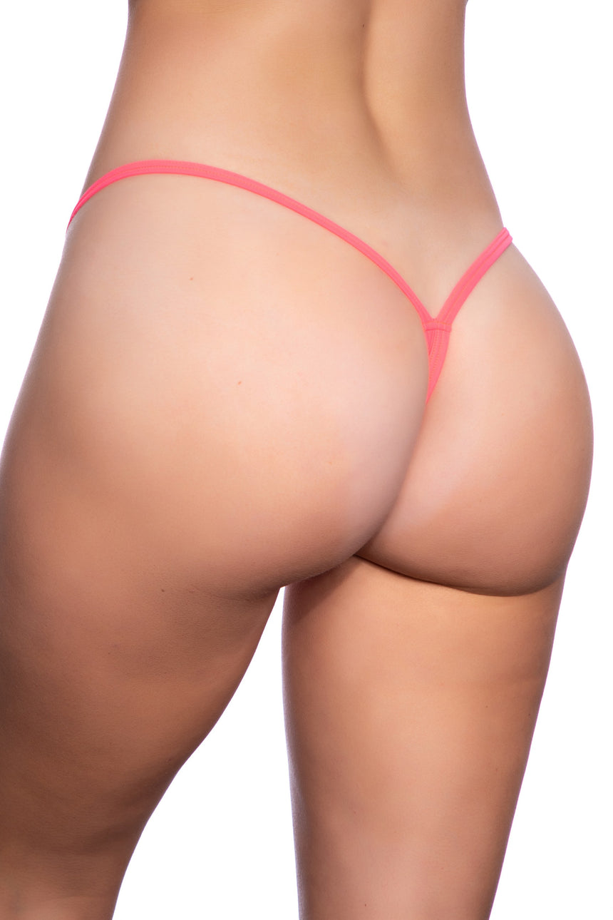 #100LG-01 Large V-Back Thong - Lycra