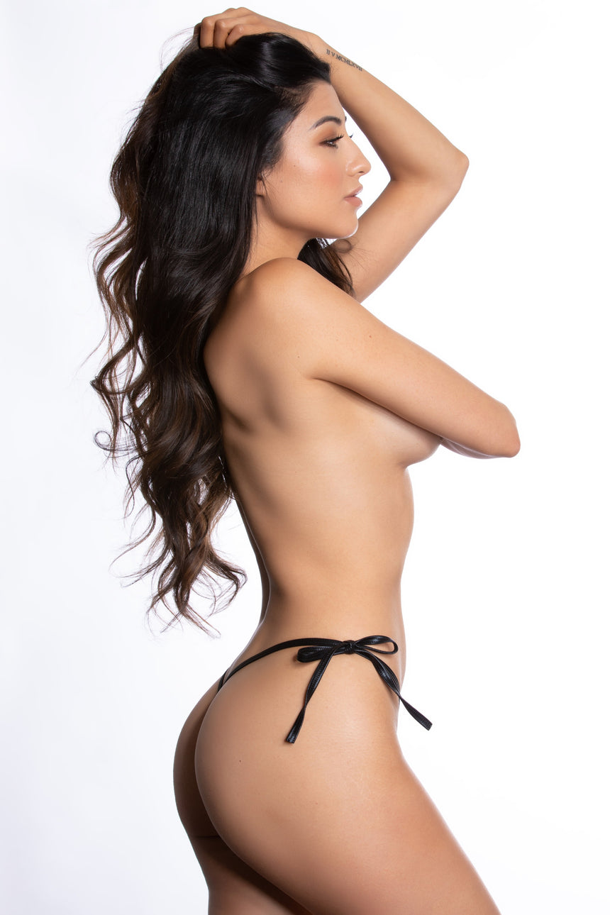 #100T-02 Tie-Side Micro Thong - Foil