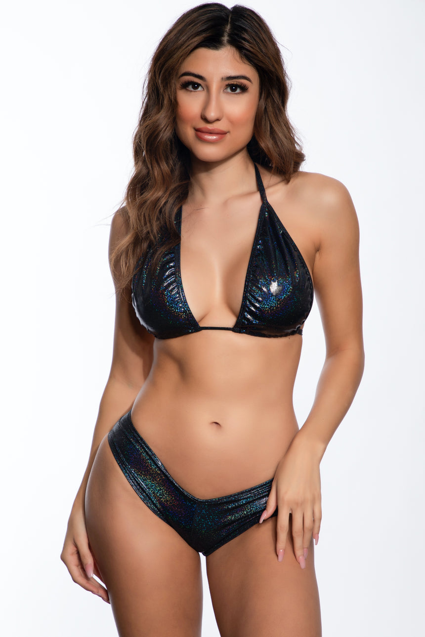#127-08 Strapie Bandeau Top - Net