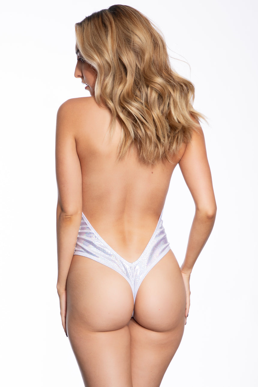 #1000-05 Tri-Top w/ V-Back Bottom - Velvet
