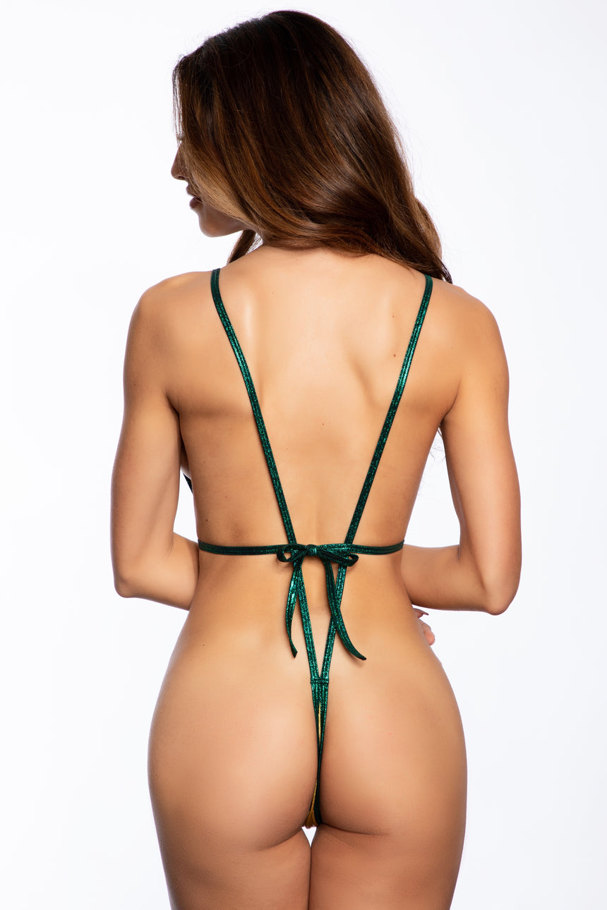 #3010-Paddy Blossom Tri-Top Sling