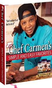 Chef Carmens Simple & Easy Favorites HARD COVER