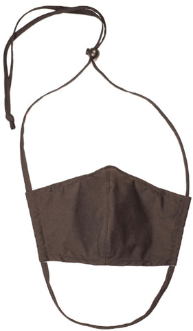 Face Mask - Contoured with Filter Pocket