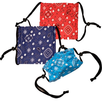 Face Mask - Bandana with Interfacing