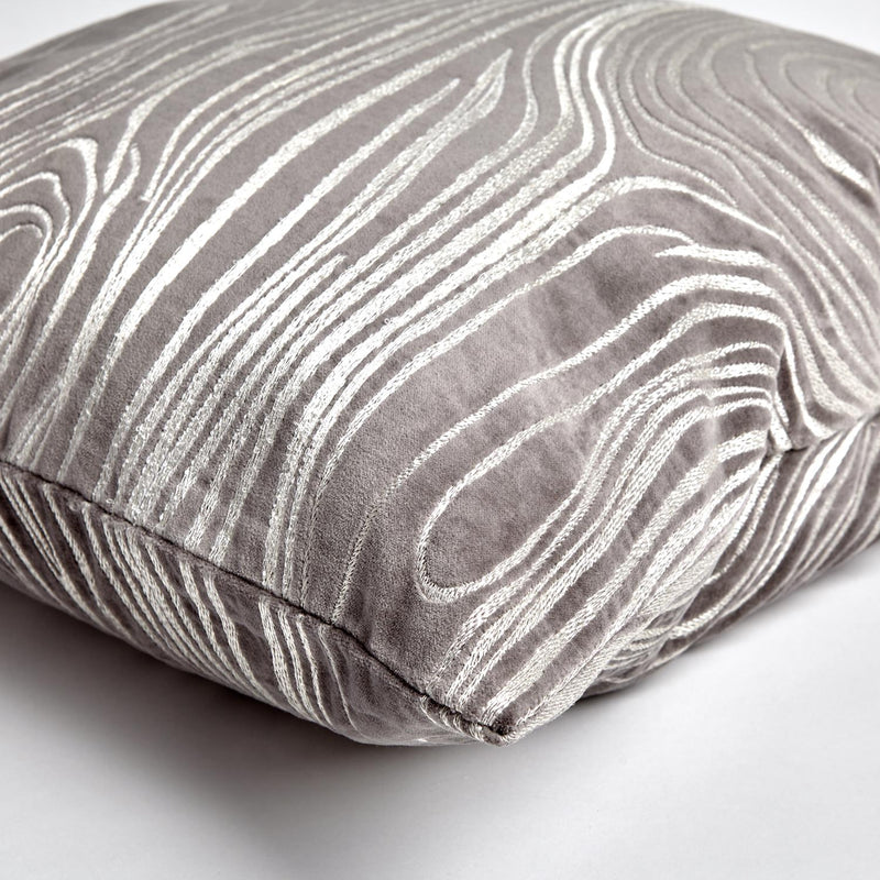 Aspen Faux Pillow in Grey